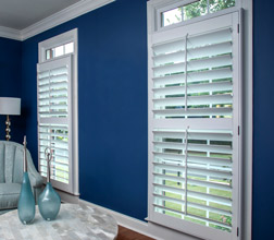 Heritage Shutters in a living room